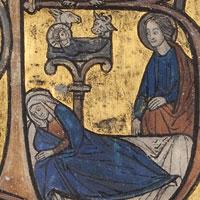 Handschrift: Psalter-Getijdenboek