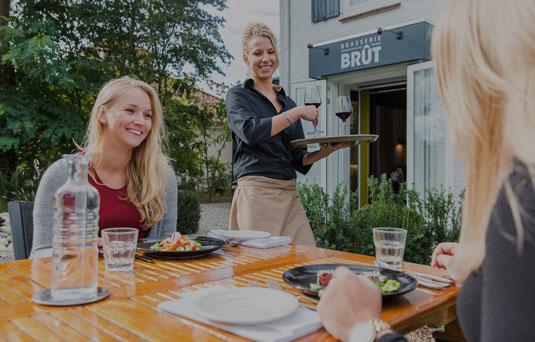 Brasserie Brût; Culinair Arrangement