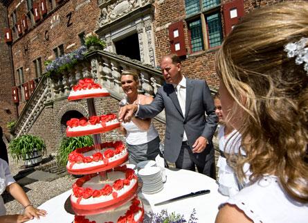 Bruidstaart Hoofdburcht