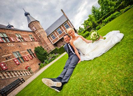 Bruidreportage Hoofdburcht Huis Bergh