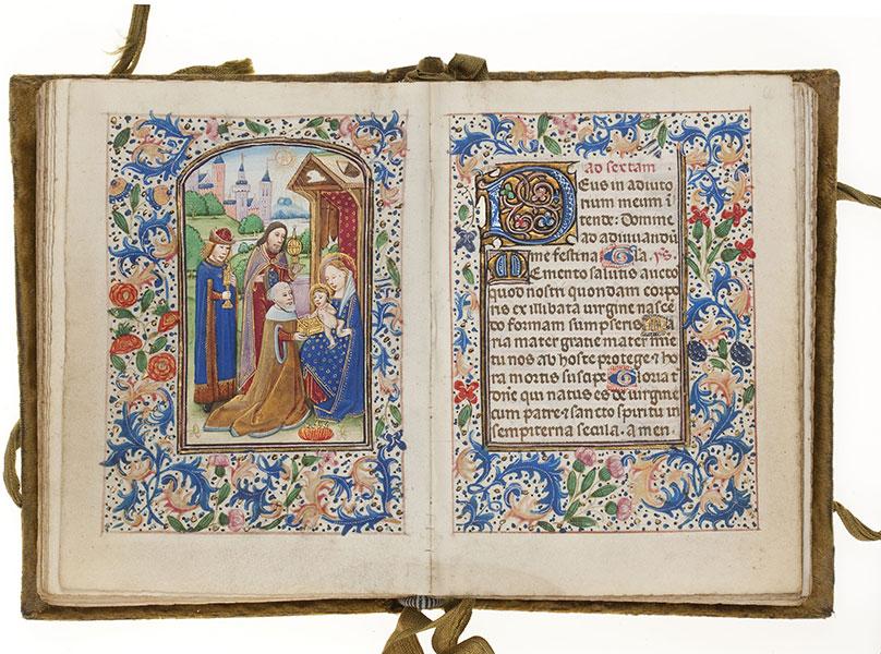 Handschrift: Getijdenboek Brugge
