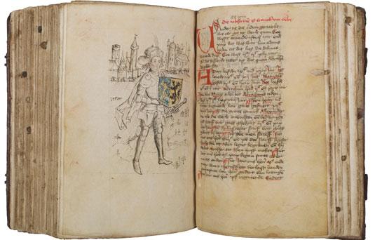 's-Heerenbergs Kroniekenhandschrift