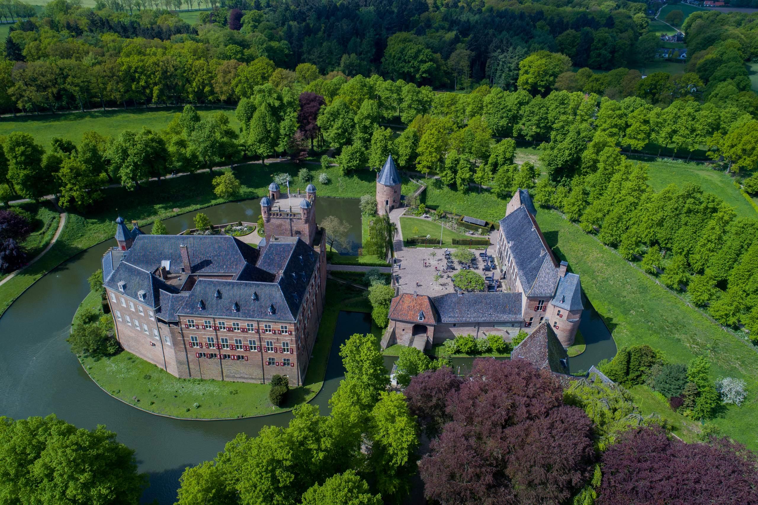 Drone shot Huisbergh